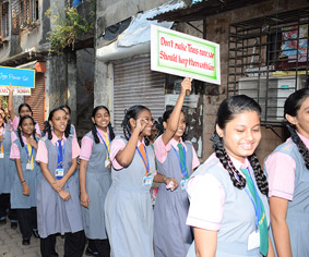 Club Enerji Rally by school students