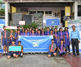 Mini Club Enerji Rally by Bharat Scouts and Guide