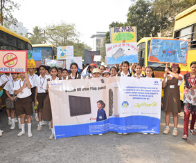 Energy conservation rally by Club Enerji