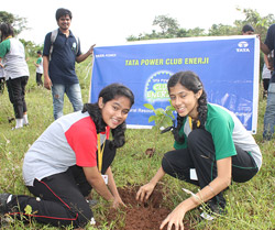 Plantation Drive Event - Club Enerji Members