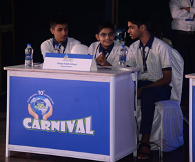 Quiz session during Club Enerji Carnival