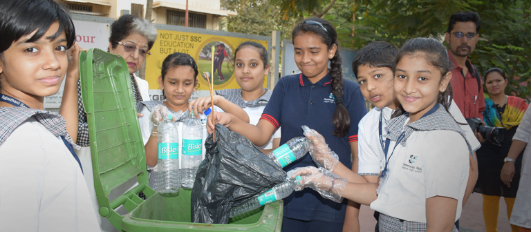 Student's Waste Management Activity - Club Enerji
