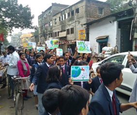 Save water rally in Kolkata by Club Enerji